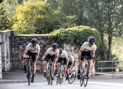 Cycling through Girona