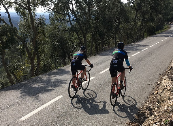 The best road tracks for cycling in Girona