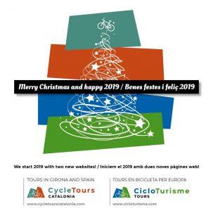 Felicitació de Bon Nadal de CycleTours Catalonia