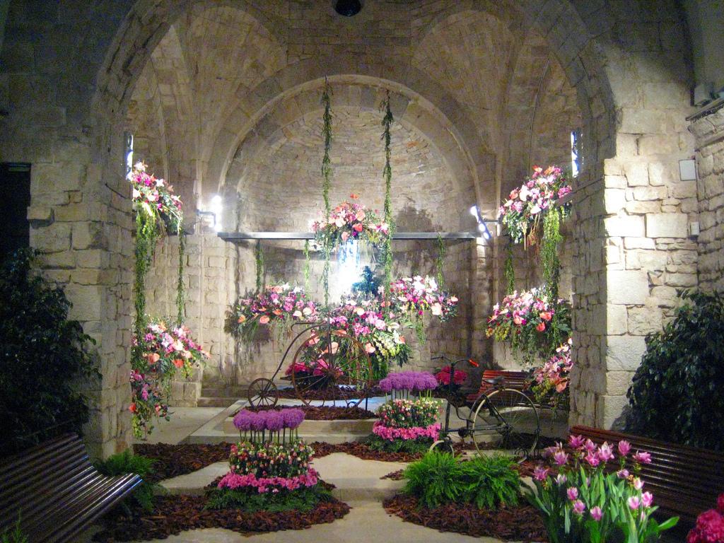 Interior Banys Arabs per Girona Temps de Flors