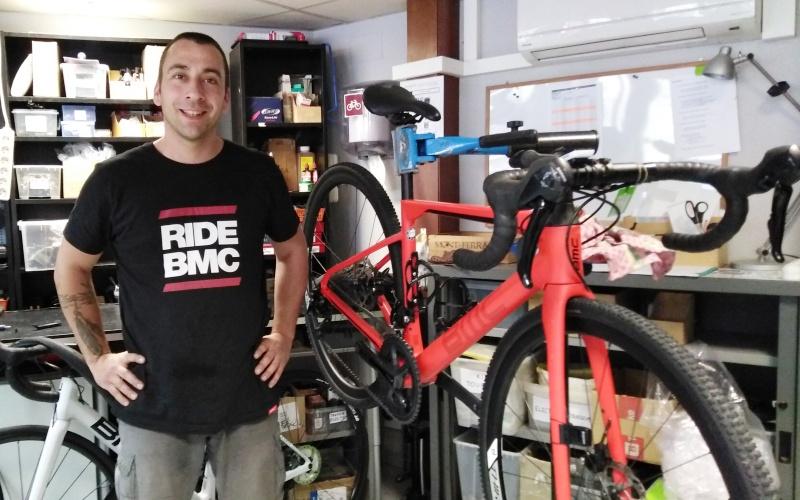 Foto Albert, mecànic de CycleTours Catalonia