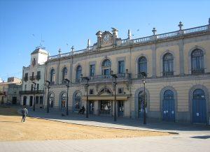Vista del casino de Llagostera