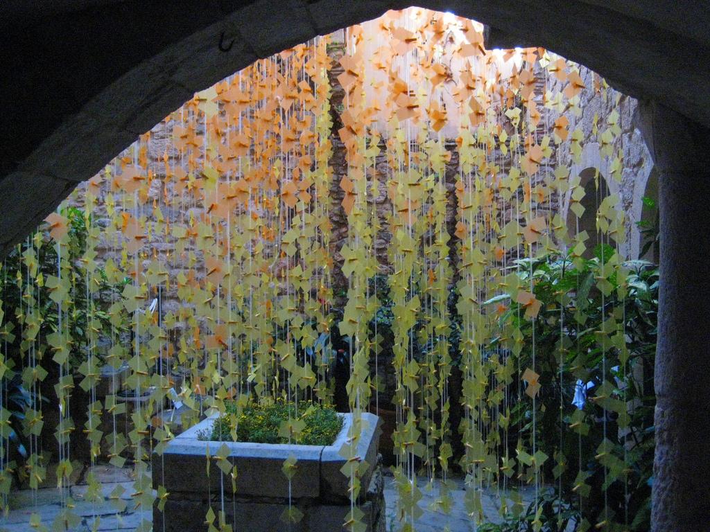 Pati de la casa per Girona Temps de Flors
