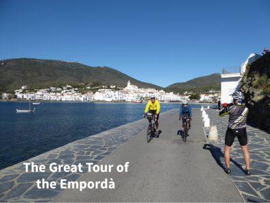 la gran volta a l'Empordà amb bicicleta de carretera.