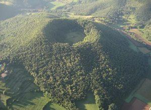 Paisatge de volcans de La Garrotxa