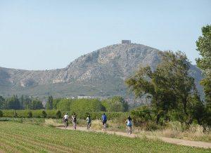 Vista de lluny del Castell del Montgri