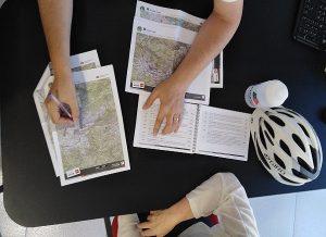 Presentació d'un roadbook i els mapes