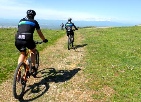Mountaing biking
