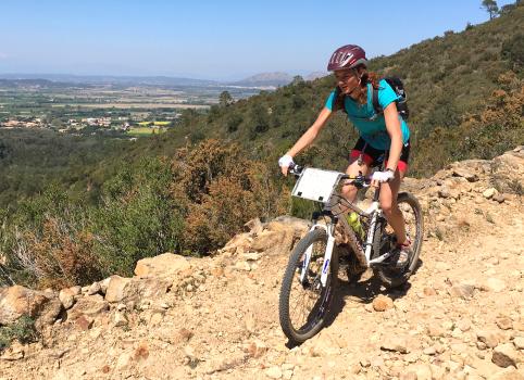 Mountain bike in Girona