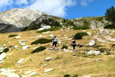 Hiking along the Pyrenees