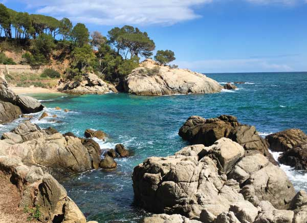 Walking along the hidden coast of the Costa Brava.