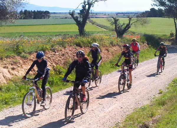 Day rides in Catalonia by mountain bike