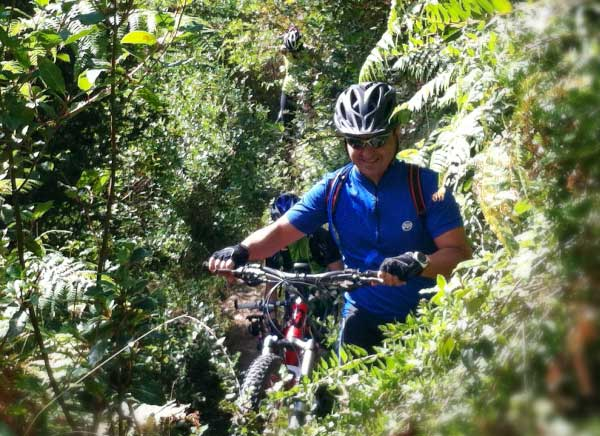 Day rides in Girona by mountain bike