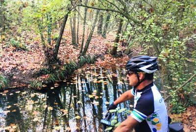 Mountain biking in Girona
