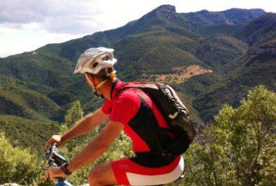 Single tracks for mountain biking in Girona