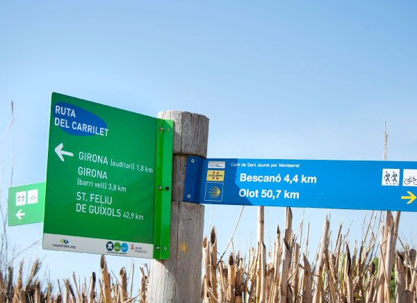 Greenways signs