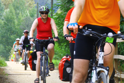 2 days cycling on the greenways of Girona