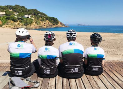 Riding on the Costa Brava