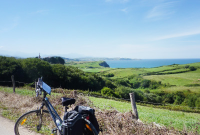 Cycling in the north of Spain