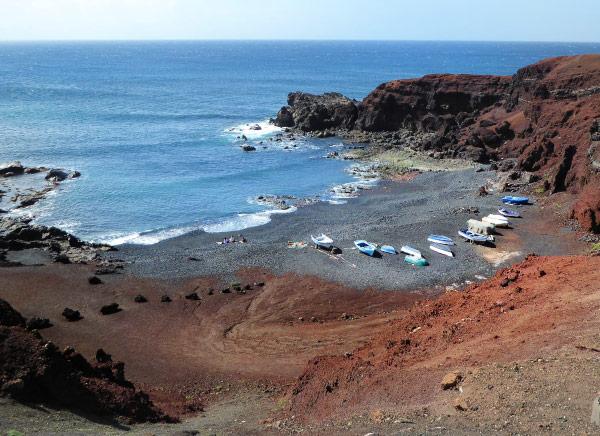 Nice beach of Lanzarote island