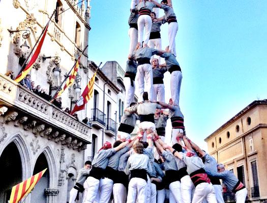 Catalan culture as els Castellers