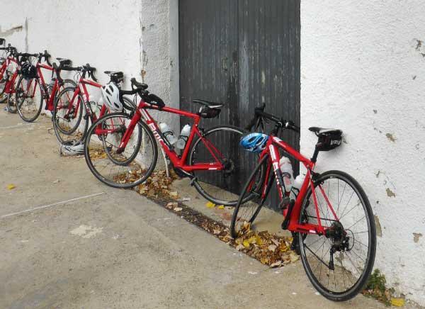 BMC Road bikes in Girona