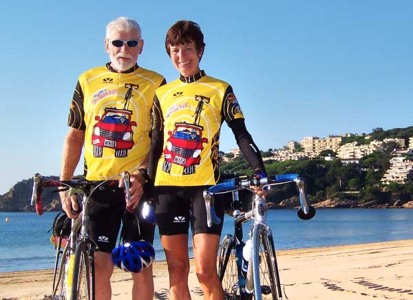 Road bike tour in the Costa Brava