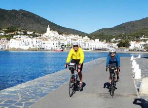Road biking in Cadaqués